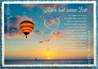 Alles hat seine Zeit - Postkarten - Grafik Werkstatt Bielefeld