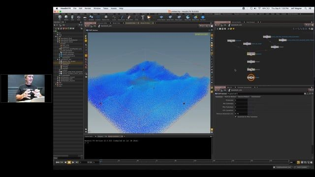This session will introduce you to the power and ease-of-use of FLIP fluids in Houdini. SideFX's Senior Technology Consultant Jeff Wagner takes you through key FLIP concepts, including FLIP and colliders, FLIP small scale simulations, large scale ocean simulations.  WORKING FILES: https://www.dropbox.com/s/q3adhswzx0x8h62/FLIP_webinar_share_files.zip?dl=0