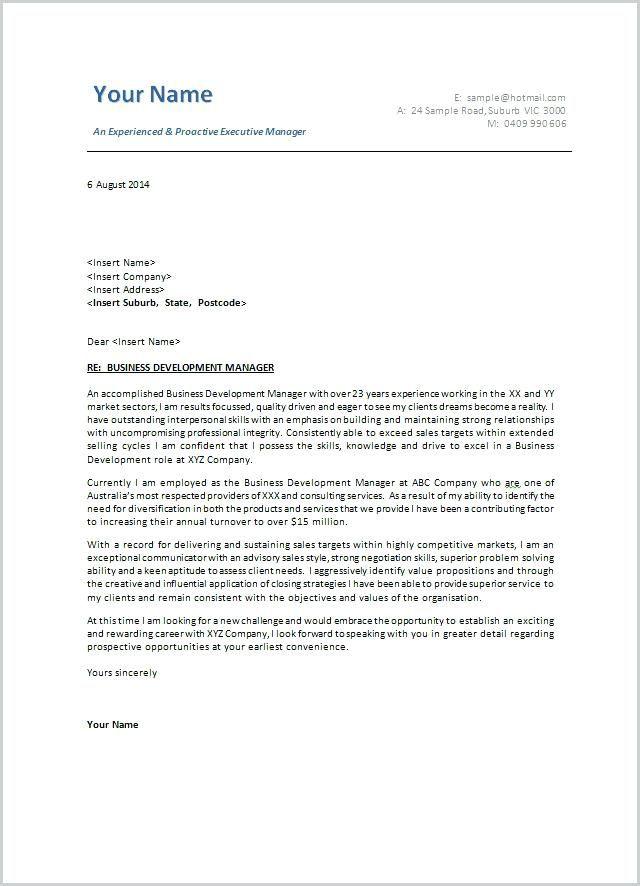 letter template australia  Cover Letter Template Australia | Cover letter template ...