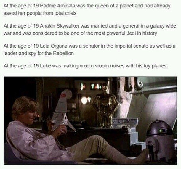 This week was 40 years since Episode IV was released. Celebrate with some jokes from a galaxy far, far away.