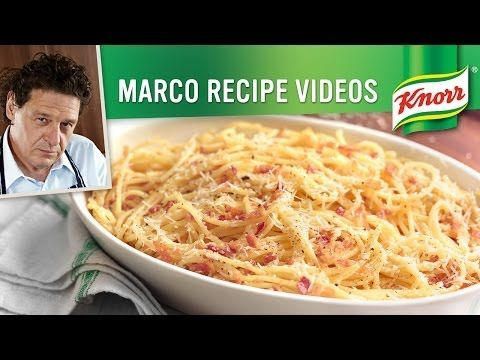 Marco Pierre White's Spagetti Carbonara with Pancetta
