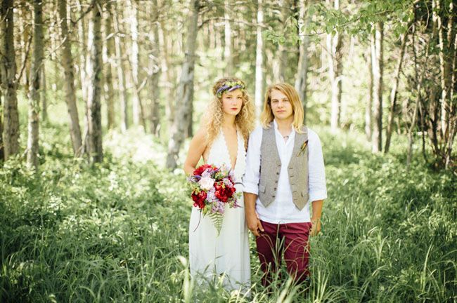 Homespun Bohemian Canadian Wedding: Katarina + Jesse