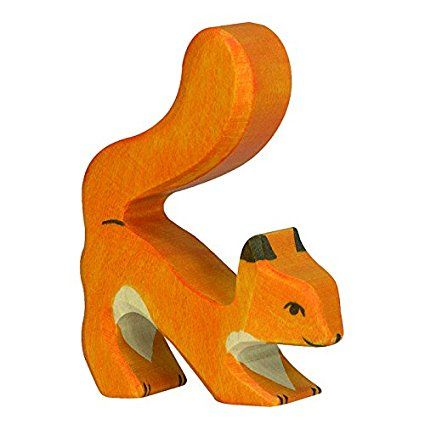 Holztiger Squirrel (Orange)