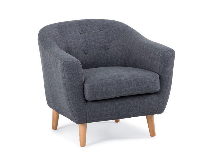 MINEO - Armchair - Dark Grey