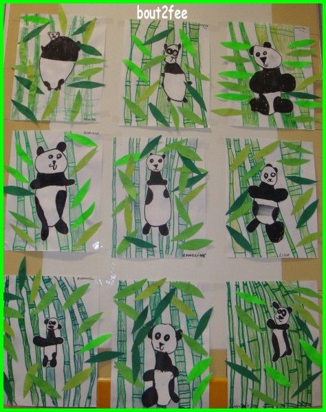 I love the way the pandas are placed in a vase, on the link.