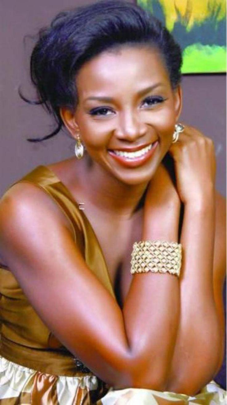 Chika ike chika ike shows off her new look diamond celebrities - Emily Entertainment News Blog Genevieve Nnaji And Banky W _wish List Of
