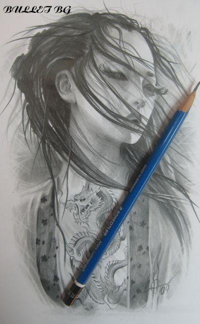Geisha by ~bullettattoobg on deviantART