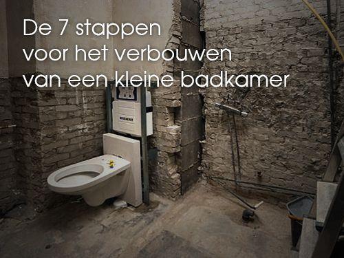Lees hier dé 7 stappen voor het verbouwen van een kleine badkamer! http://kleinebadkamers.nl/kleine-badkamer-inrichten/de-7-stappen-voor-het-verbouwen-van-een-kleine-badkamer/