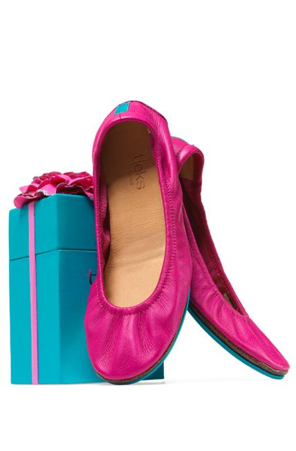 Tieks: the most comfortable flats ever. And they come in the cutest packaging too. I'll take a pair in each color, please!