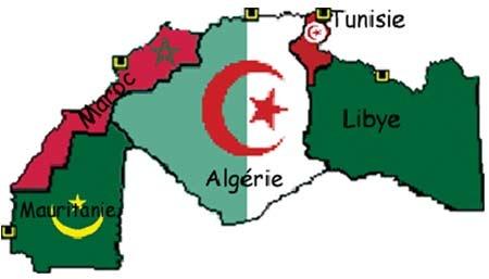 Le Magreb: La Tunisie, le Maroc, l'Algérie, la Lybie, La Mauritanie