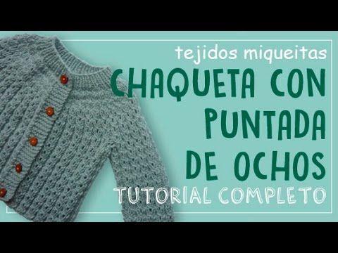 http://www.tejidosmiqueitas.com, http://www.facebook.com/tejidosmiqueitas En este nuevo tutorial les enseñaré cómo hacer esta linda chaqueta para bebé con pu...