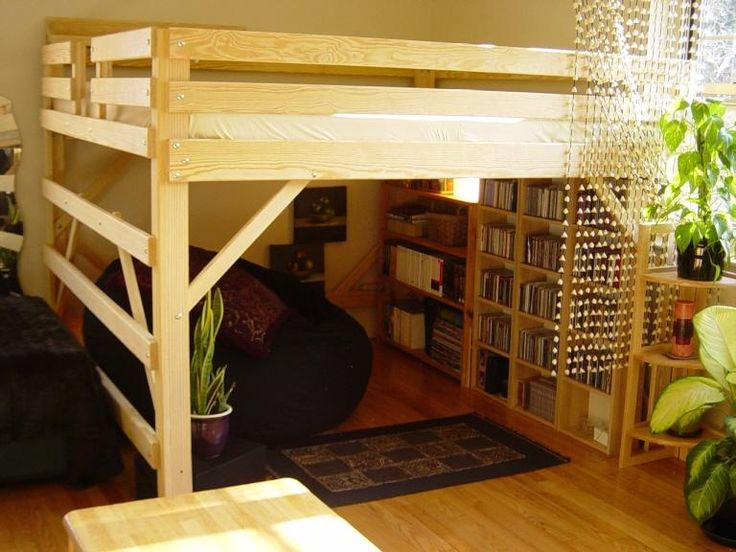 DIY Loft Bed Plans Free | Free Loft Bed Queen Diy Woodworking