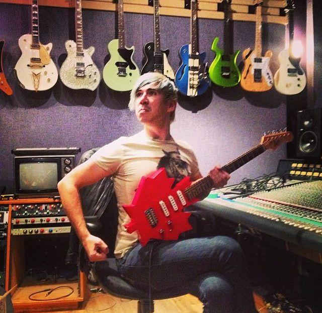 Josh and Matt are working on music!
