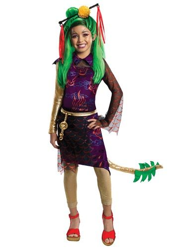 Monster High Jinifire Child Costume JollyWallet $19,99 no wig