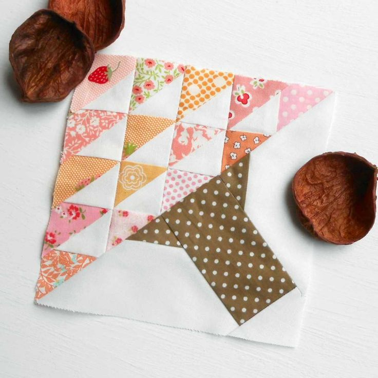 We are on week eight for the Very Kerry Berry so the blocks for this week a re:     Block 15 – Blossom . I paper-pieced this using 2½...