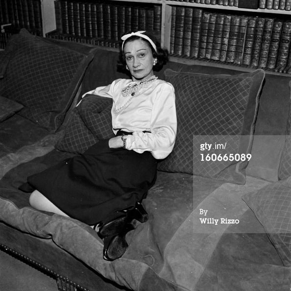 News Photo: Coco Chanel Presents Her Beauty Tips Book A… gettyimages.com