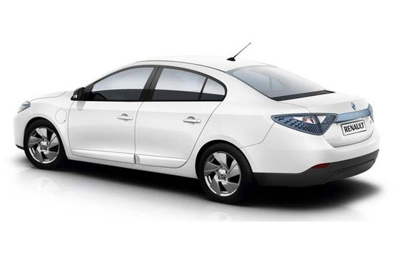 Electric Cars - High Performance - Zero Emissions - Silent, Fast And Cool - Renault Fluence Electric Car