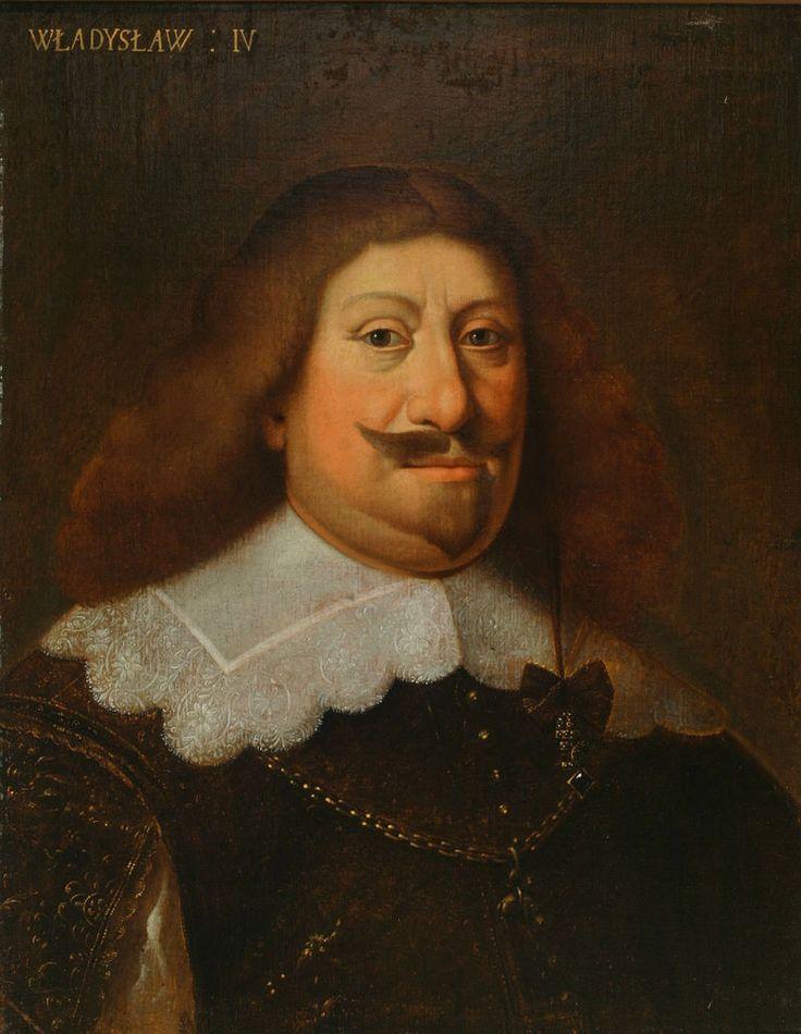Król Władysław IV Waza-n.n.malarz z XVIIIw.