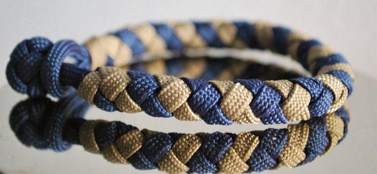 Pulsera de hilo de cordón plano de zapato