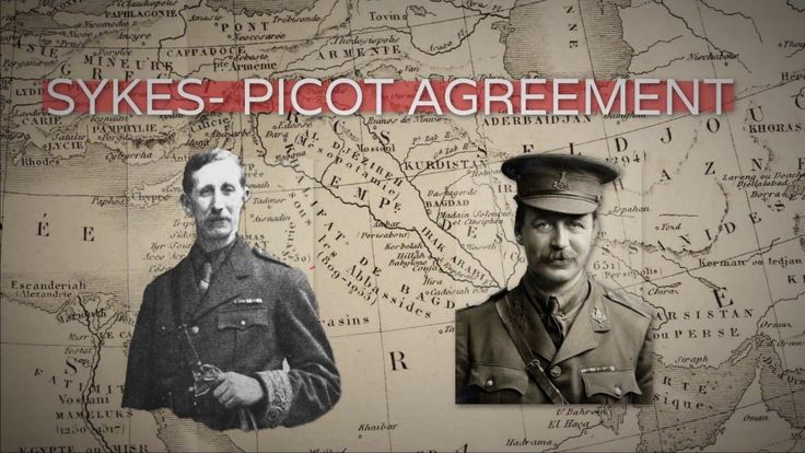 #BeyondBorders: One Hundred Years of Sykes Picot