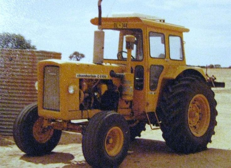 """Chamberlain was make of tractors manufactured in Australia by Chamberlain Industries. The company was started in 1949 by a tractor engineer Bert Chamberlain. The American firm of John Deere bought a stake in the company in 1970 with John Deere eventually taking control. In 1986, production of Chamberlain John Deere tractors was ended....to produce a tractor entirely suited to the large land holdings of Australian farmers... — Melbourne engineer A.W. (Bert) Chamberlain in the 1930s"""""""