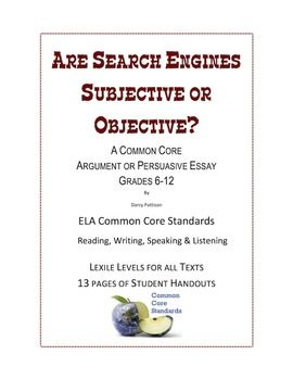 an essay on search engines Searchcom- this is a super search engine searchcom combines all of the result that you would find on a google search with those of yahoo and bing searchcom combines all of the result that you would find on a google search with those of yahoo and bing.
