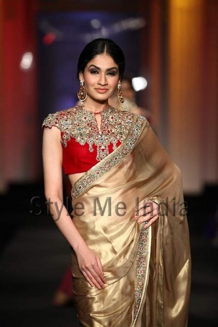 Ashima Leena at Aamby Bridal Fashion Week 2012