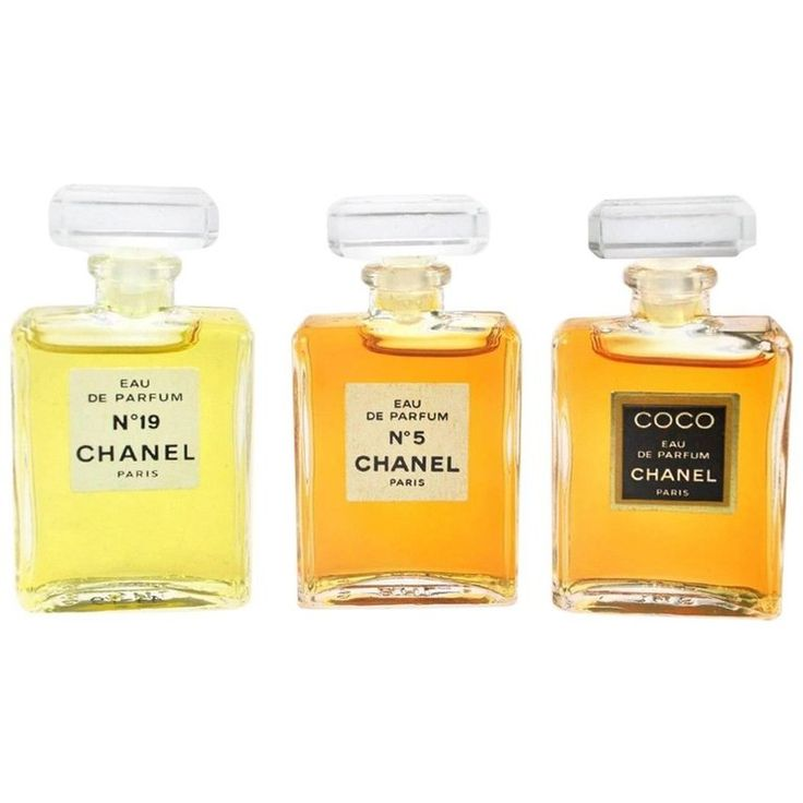 Chanel Vintage Rare Three Piece No 5 No 19 CoCo Eau de Perfume Gift Set in Box | 1stdibs.com