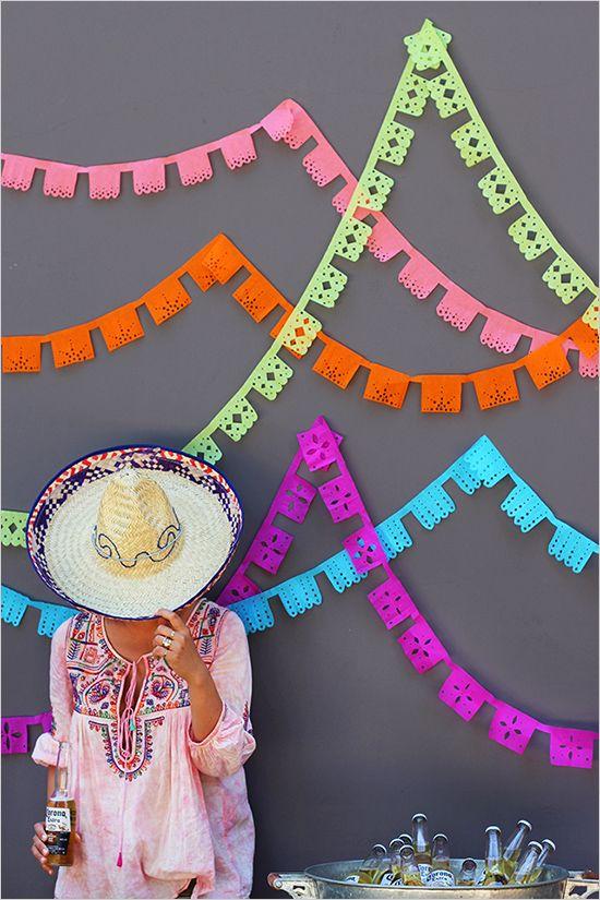 DIY Papel Picado Banner ¡ole!