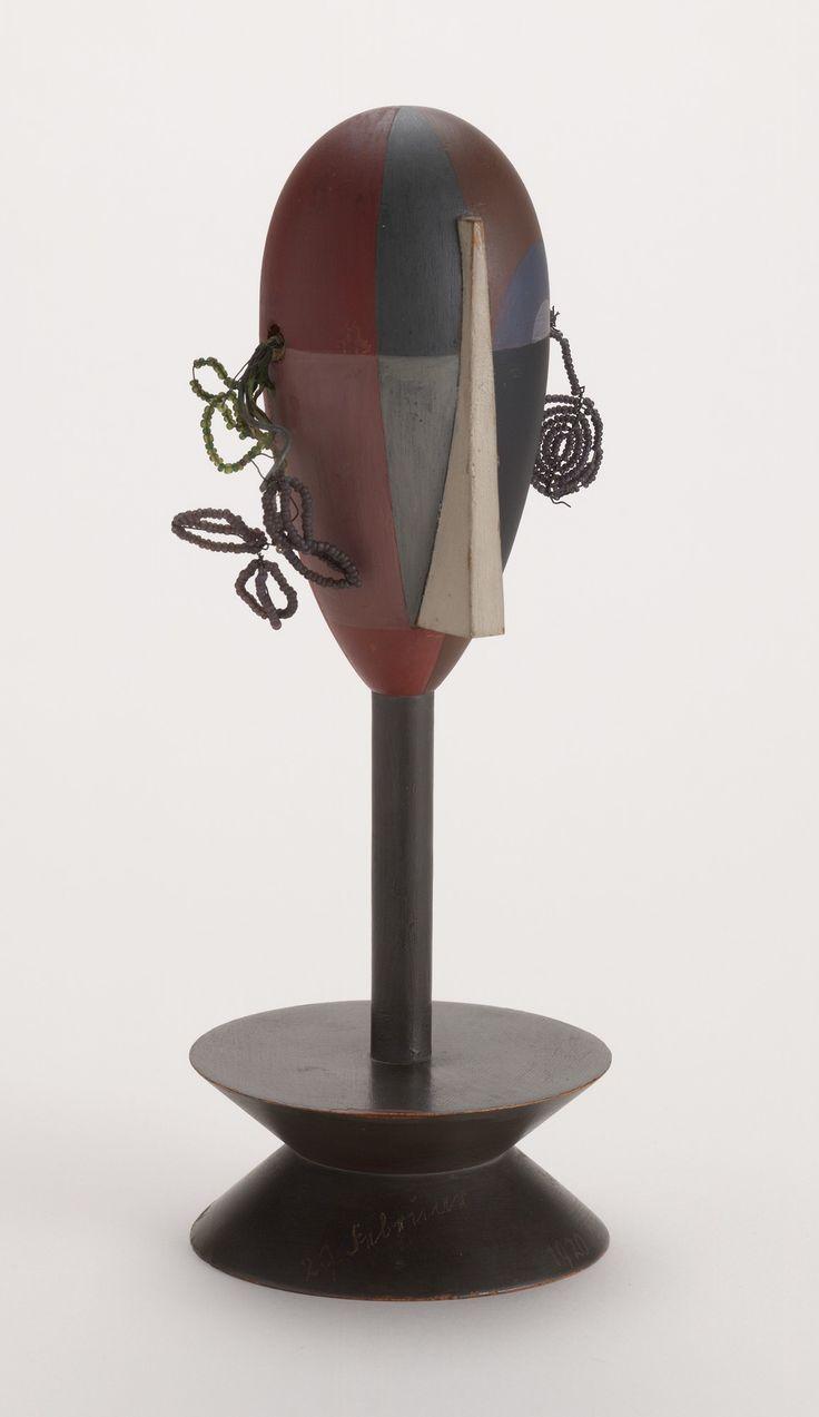Sophie Taeuber-Arp. Dada Head. 1920