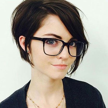 Short Hairstyles For Thick Hair Extraordinary 12 Best Gray Asymmetrical Hair Images On Pinterest  Hair Cut Hair