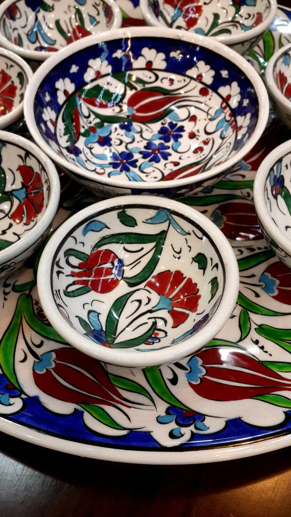 Check out this item in my Etsy shop https://www.etsy.com/listing/213163760/hand-painted-iznik-ceramic-pottery-8