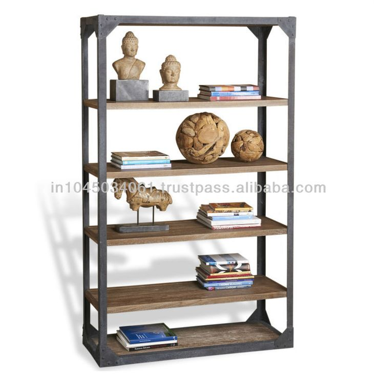 This Tall Piece Of Pragmatic Shelving Has An Industrial Sensibility And Is  Spare Enough In Line To Be Right At Home In A Variety Of Vintage Inspired.