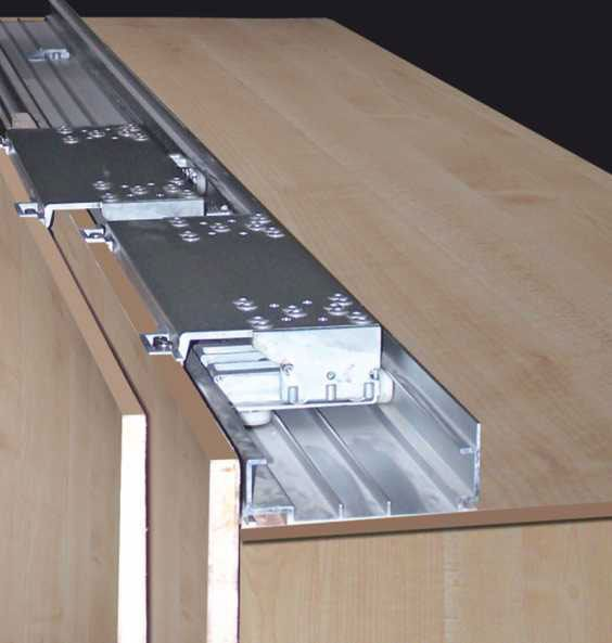 in line sliding system inline sliding system an excellent wardrobe sliding door system in. Black Bedroom Furniture Sets. Home Design Ideas