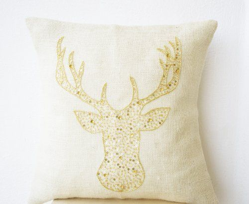 Amore Beaute Handcrafted Christmas Pillow Cover with Deer... https://www.amazon.com/dp/B00GO58A4I/ref=cm_sw_r_pi_dp_a.twxbTRXQZNK