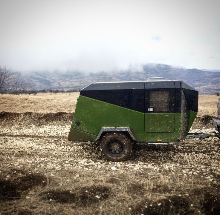 off-road mini caravan