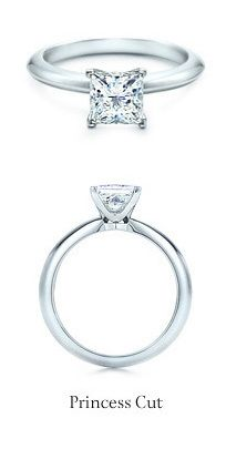 Tiffany Princess Cut Diamond