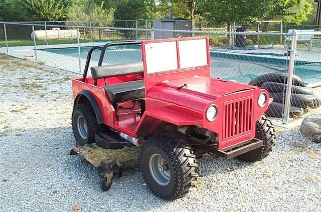 Custom Built Garden Tractors   You live and learn. At any rate, you live.