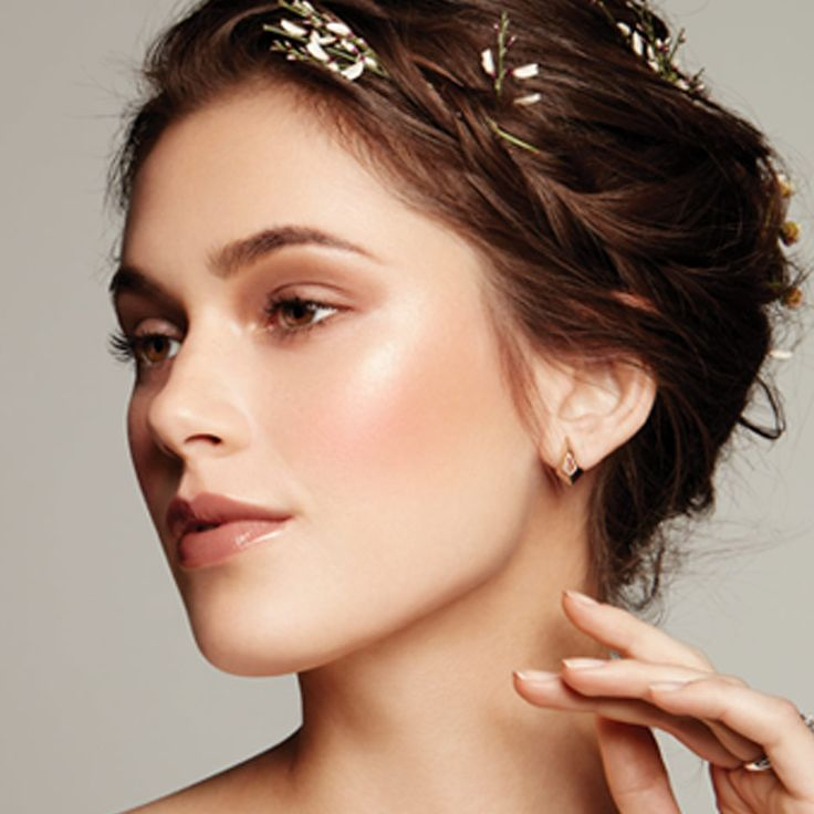 Introducing the Ethereal Bride! This soft and romantic look is so boho-chic. Get the look now. | Mary Kay