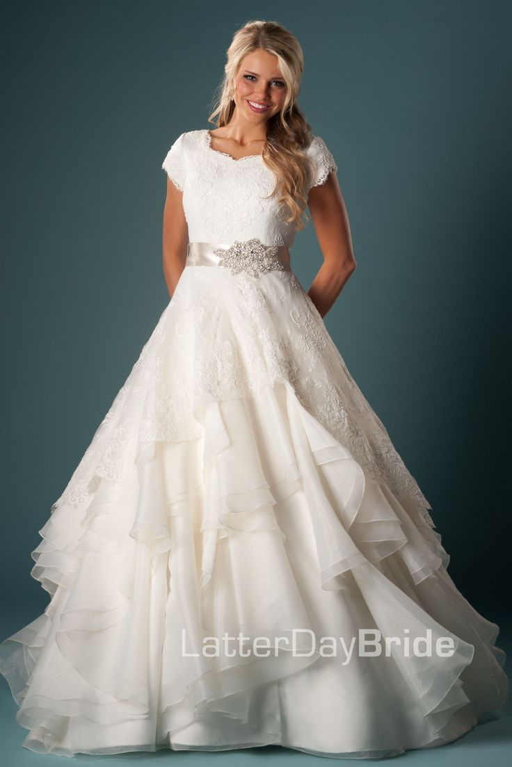Esmerelda Modest Wedding Dress Latter Day Bride & Prom Gateway Bridal