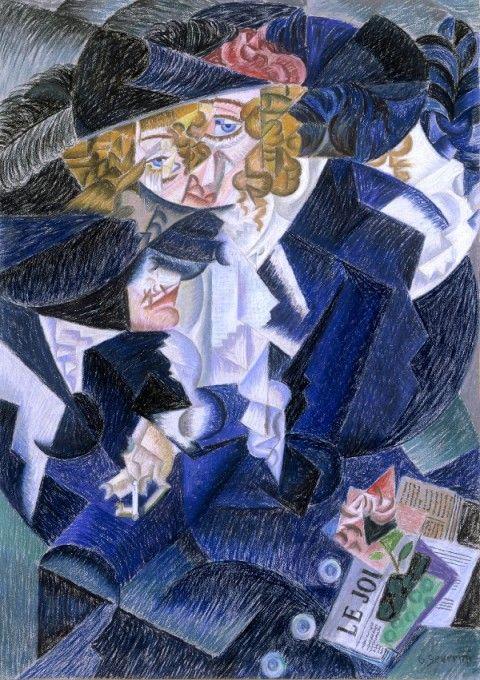 Gino Severini - Ritratto di madame S. - 1913