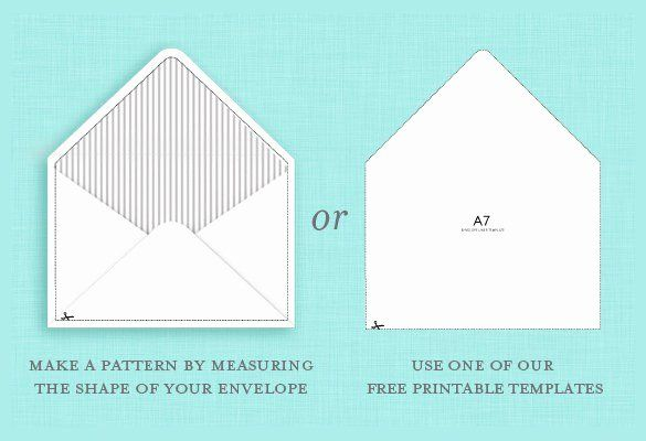 A2 Envelope Template Word in 2020 | Envelope template