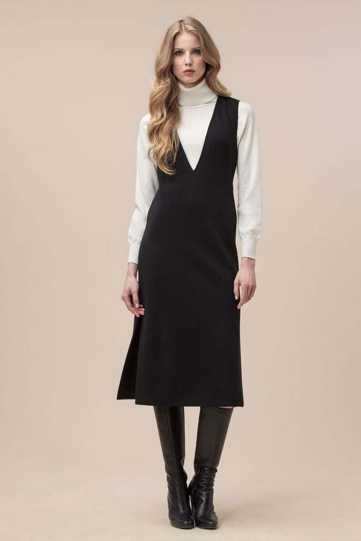 Υφαντά φόρεμα Luisa Spagnoli