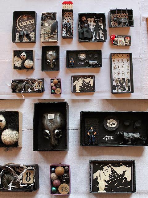 mano's world: art boxes