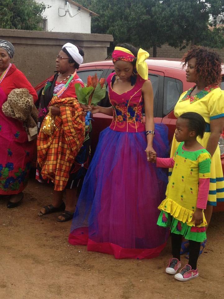 Sooo beautiful! South African bride!