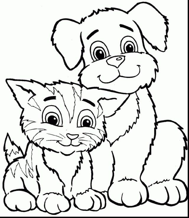 27 Beautiful Image Of Coloring Pages Of Cats Entitlementtrap Com Dog Coloring Page Puppy Coloring Pages Cat Coloring Page