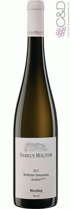 Folgen Sie diesem Link für mehr Details über den Wein: http://www.c-und-d.de/Mosel-Saar-Ruwer/Riesling-Auslese-trocken-Wehlener-Sonnenuhr-2015-Weingut-Markus-Molitor_74279.html?utm_source=74279&utm_medium=Link&utm_campaign=Pinterest&actid=453&refid=43 | #wine #whitewine #wein #weisswein #moselsaarruwer #deutschland #74279