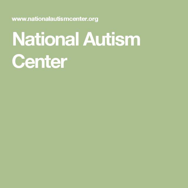 National Autism Center