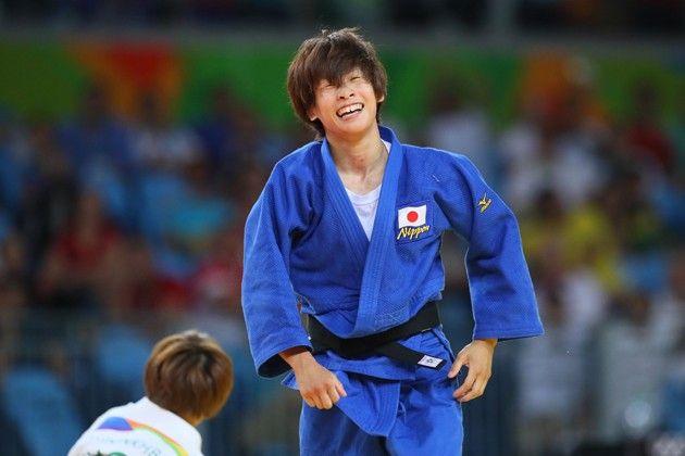 今大会の日本人メダル1号は近藤亜美。3位決定戦では、残り時間がほとんどないところで有効を奪った【写真:YUTAKA/アフロスポーツ】