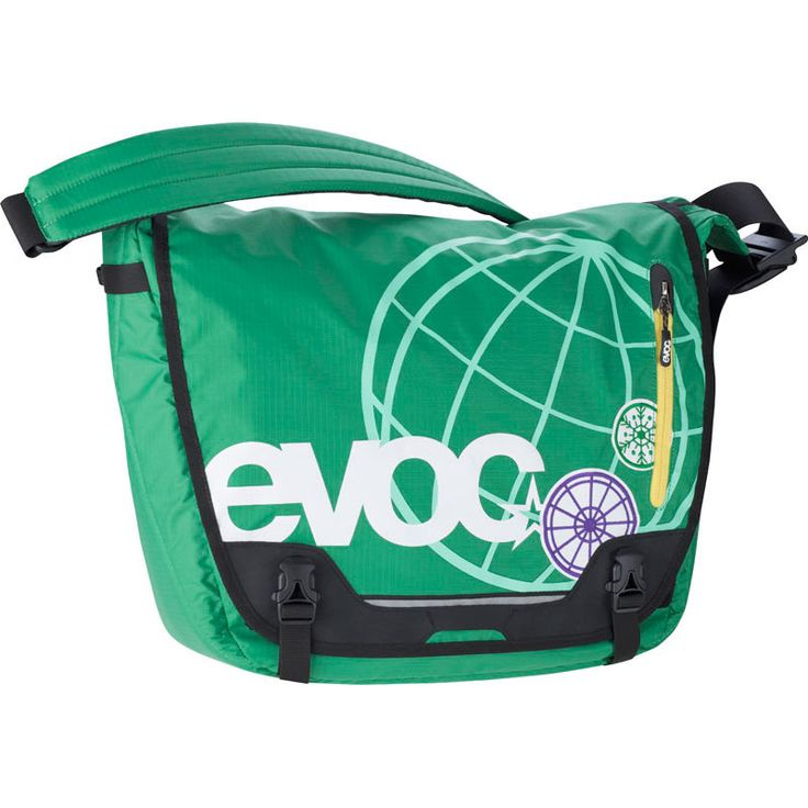 2012 Evoc Messenger Bag - Green - - by Evoc - 2012 Evoc Messenger Bag - Green If You Want to Visit the Best Freeride Spots in